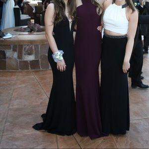 black prom dress PromGirl